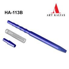 Мундштук металлический с пружиной HА 113B синий