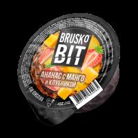 Кальянная смесь Brusko BIT 20 гр. Ананас Манго и Клубникой