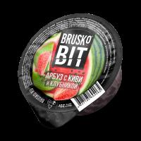 Кальянная смесь Brusko BIT 20 гр. Арбуз Киви и Клубника