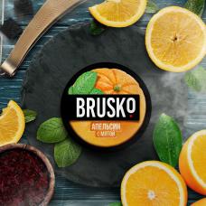 Смесь Brusko 50 гр. Апельсин с мятой