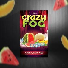 Кальянная смесь Crazy Fog 50 гр. Арбуз Дыня Лёд