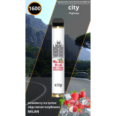 Электронное устройство City High Way Milan Strawberry Ice Lychee