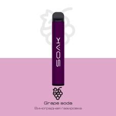 Электронное устройство SOAK 800 тяг Grape soda