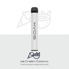 Электронное устройство SOAK 800 тяг Ice Cream Coconut