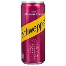 Schweppes дикий гранат 0.33 ж/б