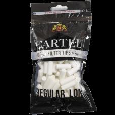 Сигаретные фильтры Cartel Regular Long 100 шт.