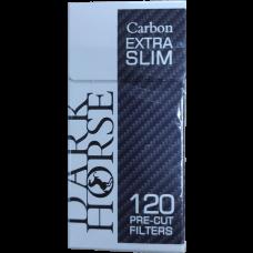 Сигаретные фильтры DarkHorse Pre - Cut Carbon 120*20