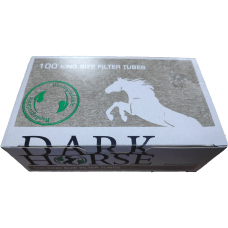 Сигаретные гильзы Dark Horse BIO 100 шт.