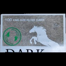 Сигаретные гильзы DarkHorse Green Point 100 шт.