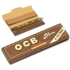 Сигаретная бумага OCB Unbleached + Tips