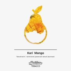 Табак для кальяна MattPear 50 гр. Kari Mango
